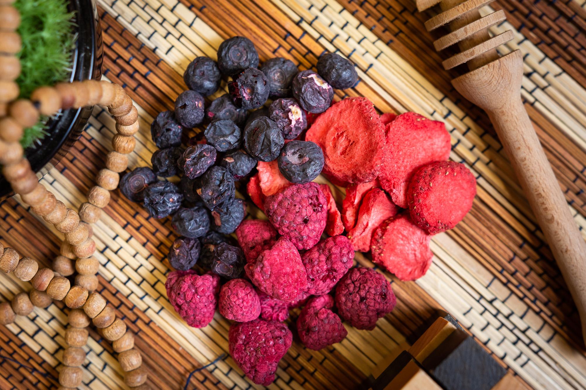 Liofilizované ovoce