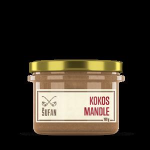Kokosovo-mandlové máslo