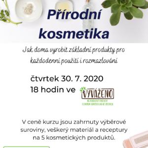 Workshop Přírodní kosmetika