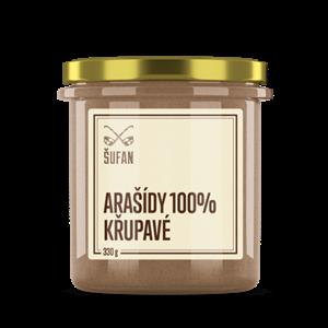 Arašídové křupavé máslo